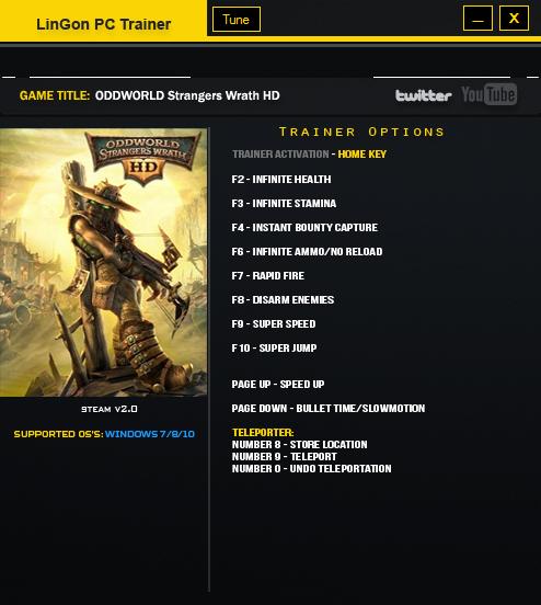 скачать Oddworld: Stranger's Wrath HD: Трейнер/Trainer (+10) [2.0.0.0]