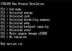 скачать S.T.A.L.K.E.R. Новый Арсенал 6. Революция: Трейнер/Trainer (+9)