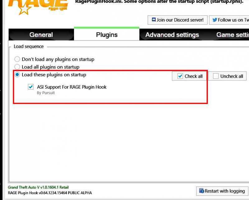 скачать Grand Theft Auto 5 (GTA V): RAGEPluginHook 0.64.1234.15464 ALPHA + SimpleTrainer 9.8 (Настроен без скрипт хука)