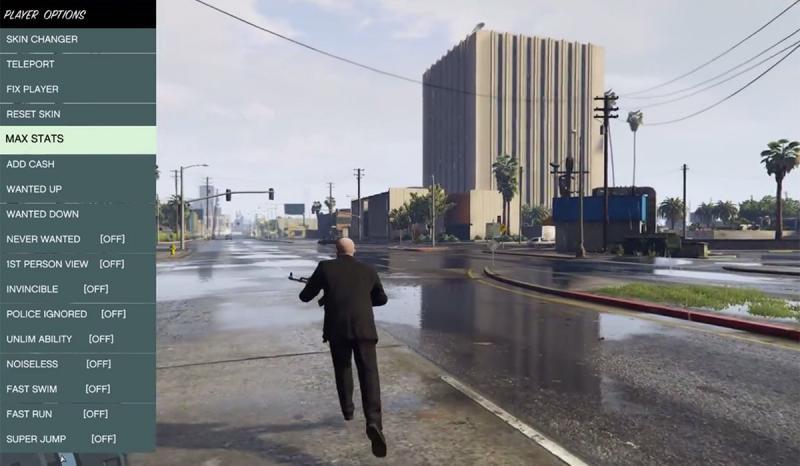 скачать Grand Theft Auto 5 (GTA V): Script Hook V + Native Trainer [v1.0.1604.1]
