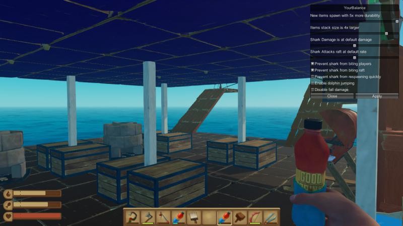 скачать Raft: Чит-Мод/Cheat-Mode Update 9 (3556813)