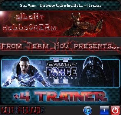 скачать Star Wars: The Force Unleashed 2: Трейнер (+4) [1.1]