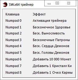 скачать Shadow Warrior: Трейнер/Trainer (+8) [1.5.0] (x64)