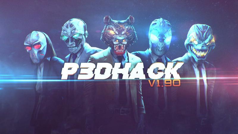 скачать Payday 2: P3DHack Free v1.94