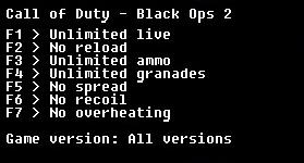 скачать Call of Duty: Black Ops 2: Трейнер/Trainer (+6) [All Versions]