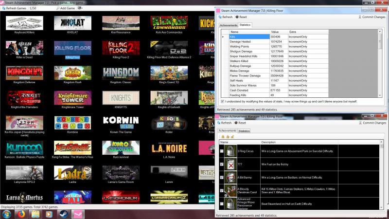 скачать Killing Floor: Steam Achievement Manager (7.0.25)