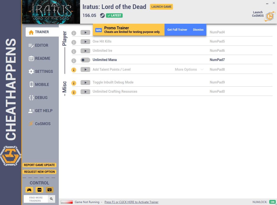 скачать Iratus: Lord of the Dead +10 трейнер v156.05 {CheatHappens.com}