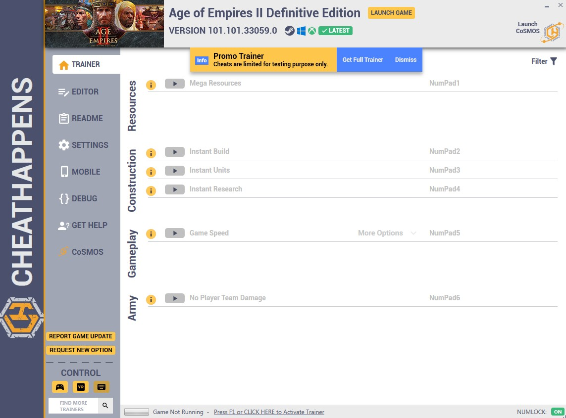 скачать Age of Empires II: Definitive Edition - +12 трейнер v101.101.33059.0 {CheatHappens.com}