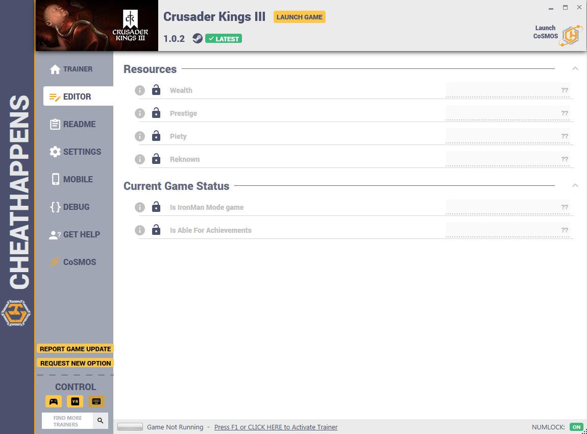 скачать Crusader Kings 3: +8 трейнер v1.0.2 {CheatHappens.com}