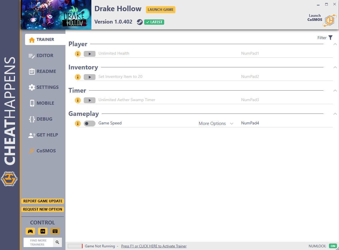 скачать Drake Hollow: +16 трейнер v1.0.402 {CheatHappens.com}