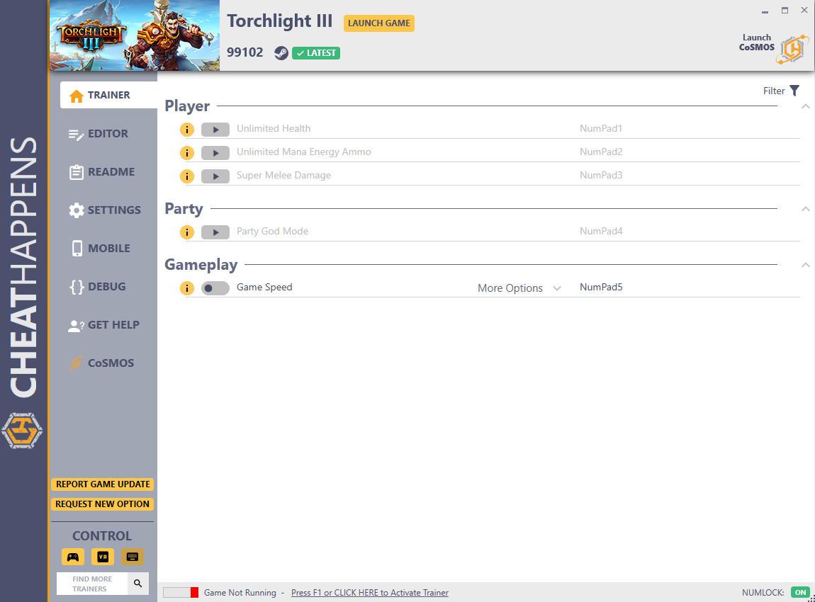 скачать Torchlight III: +17 трейнер v99102 {CheatHappens.com}