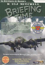 The Mid Atlantic Air Museum's B 25J Mitchell Briefing Time