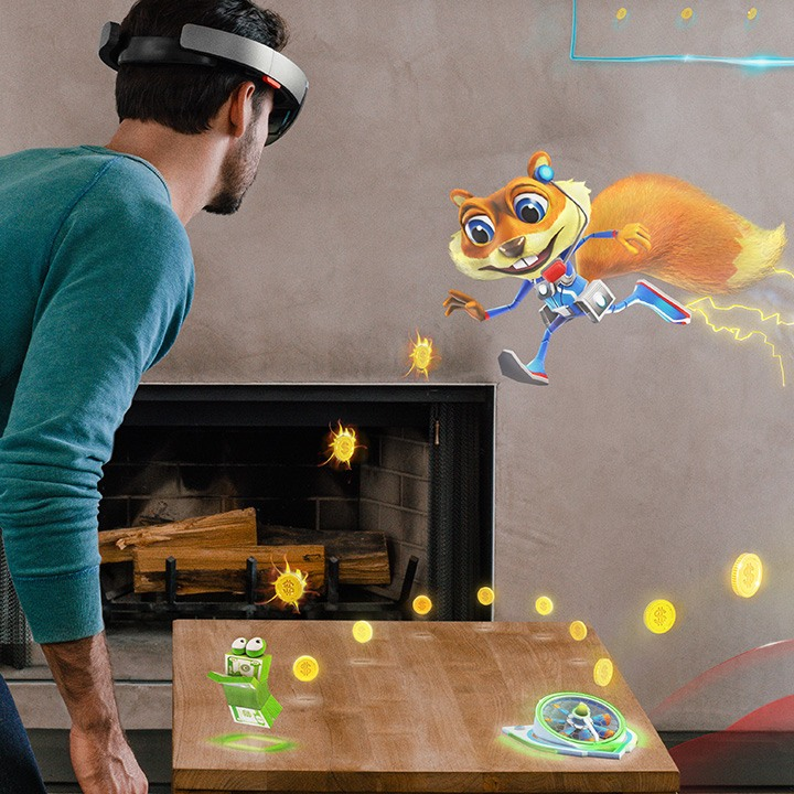 HoloLens: Young Conker