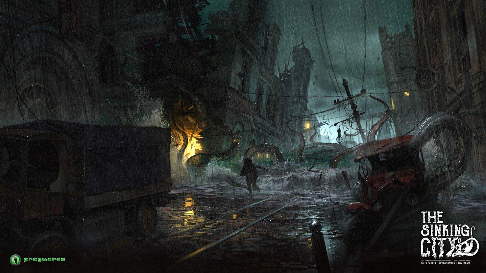 Новый трейлер игры The Sinking City в честь Нового года от разработчиков