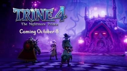 Trine 4: The Nightmare Prince - релизный трейлер