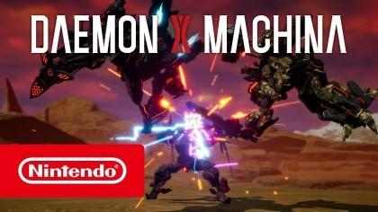 DAEMON x MACHINA – Трейлер игры с Е3 2019 [RU]