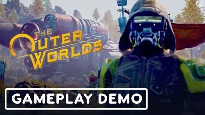 The Outer Worlds – 11 минут нового геймплея с Е3 2019