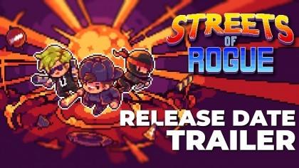 Streets of Rogue – Релизный трейлер игры с датой выхода