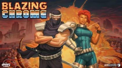 Blazing Chrome – Новый трейлер игры с датой выхода