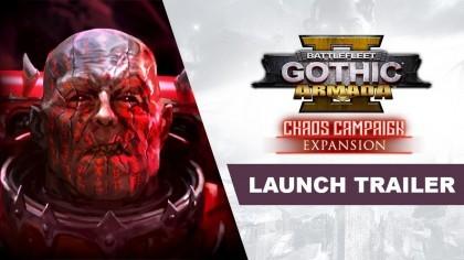 Battlefleet Gothic: Armada 2 – Релизный трейлер дополнения «Chaos Campaign»