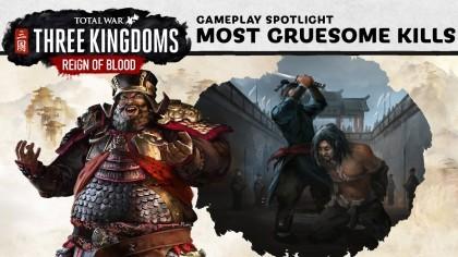 Total War: Three Kingdoms – Reign of Blood – Новый трейлер «10 самых суровых убийств»