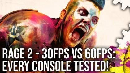 RAGE 2 – Технический анализ игры Xbox One X, PS4 Pro, PS4 и Xbox One