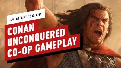Conan Unconquered – Строительство, разведка, сражения (Геймплей игры)