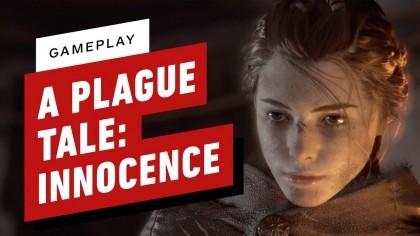 Геймплей - A Plague Tale: Innocence – 20 минут игрового процесса (Геймплей игры)