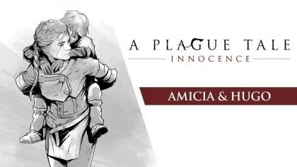 Трейлеры - A Plague Tale: Innocence – Трейлер главных героев игры