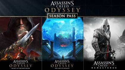 Assassin's Creed Odyssey – Дебютный трейлер дополнения «Судьба Атлантиды»