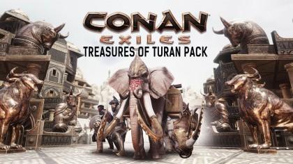 Conan Exiles – рейлер нового дополнения «Treasures of Turan»