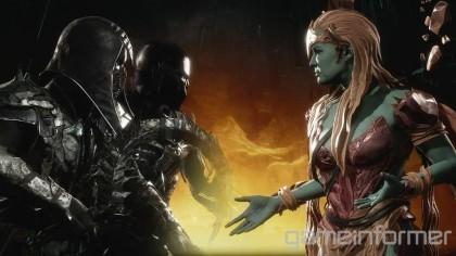 Mortal Kombat 11 – Сэтрион сражается против Нуба Сайбота (Новый геймплей)