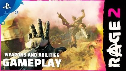 RAGE 2 – Трейлер оружия и способностей главного героя игры