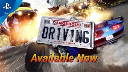 Dangerous Driving – Релизный трейлер игры