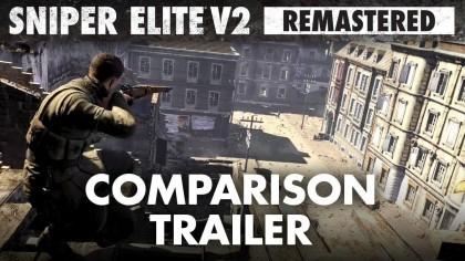 Sniper Elite V2 Remastered – Трейлер графики в ремастере