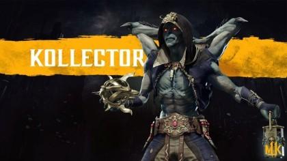 Mortal Kombat 11 – Официальный трейлер нового бойца «Коллектор»