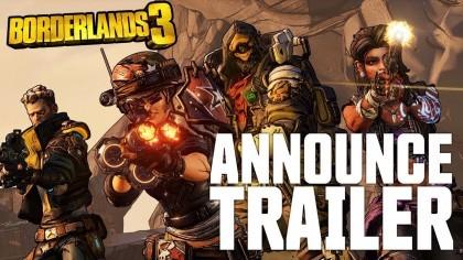Borderlands 3 – Официальный трейлер анонса и даты выхода игры