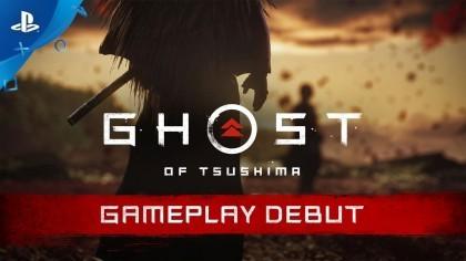 Ghost of Tsushima – Геймплейный трейлер с выставки «E3 2018»