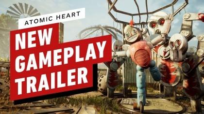 Atomic Heart – 10 минут геймплея игры