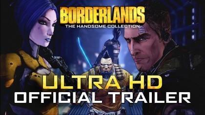 Borderlands: The Handsome Collection – Официальный трейлер 4K-версии (UltraHD)