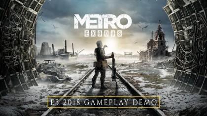 Metro: Exodus – Прохождение уровня «Волга» | ГЕЙМПЛЕЙ (на русском) | E3 2018
