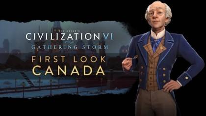 Sid Meier's Civilization VI: Gathering Storm – Трейлер новой нации «Канада» [RU]