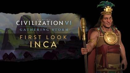 Sid Meier's Civilization VI: Gathering Storm – Трейлер новой нации «Инки» [RU]