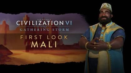 Sid Meier's Civilization VI: Gathering Storm – Трейлер новой нации «Мали» [RU]