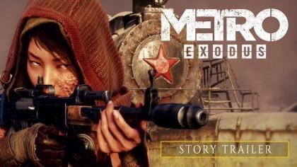 Metro: Exodus – Сюжетный трейлер (На русском)