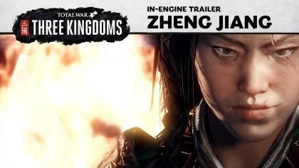 Total War: Three Kingdoms – Новый трейлер посвящён жестокой воительнице Чжэн Цзян