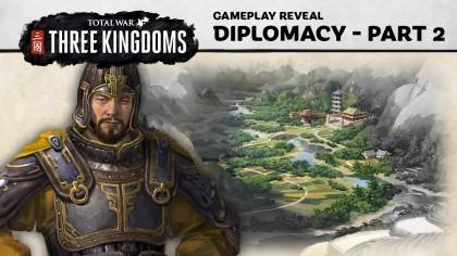Total War: Three Kingdoms – Особенности дипломатии в игре (Новый геймплей)