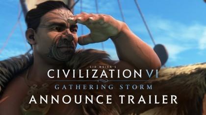 Civilization 6 – Трейлер нового масштабного дополнения «Gathering Storm»
