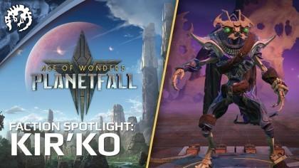 Трейлеры - Age of Wonders: Planetfall – Трейлер игровой фракции «Кир'Ко»