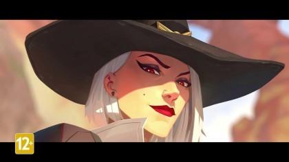 Overwatch – Трейлер «История героини Эш» (На русском)